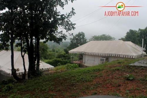 Hilltop tent